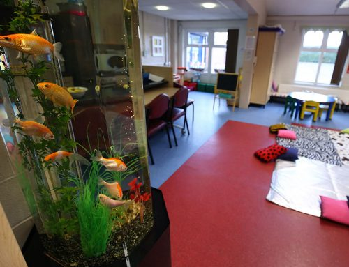 Astely Children Centre – Slimline Column with Coldwater fish