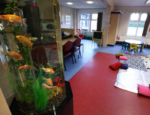 Astely Children Centre – Slimline Column with Coldwater fish