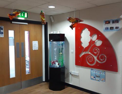 School Column Aquarium – The Wilmslow Academy